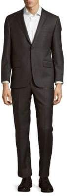 Hickey Freeman Wool Buttoned Suit
