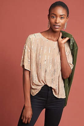Velvet by Graham & Spencer Brighton Sequin Blouse