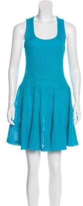 Thakoon Mesh Knit Mini Dress