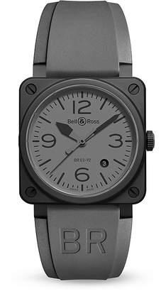 Bell & Ross BR 03-92 Commando Ceramic Watch, 42mm