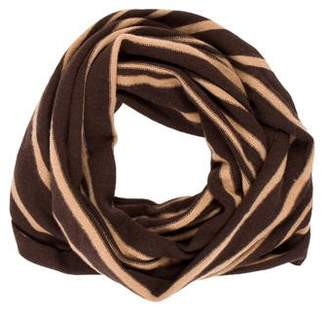 Magaschoni Striped Infinity Scarf
