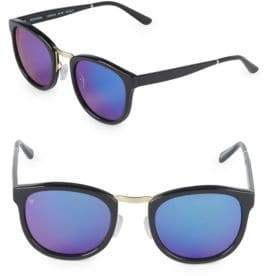 49MM Round Sunglasses