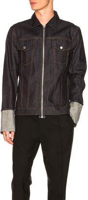 Helmut Lang Re-Edition Zip Denim Jacket