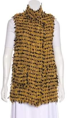 Lanvin Wool Textured Vest