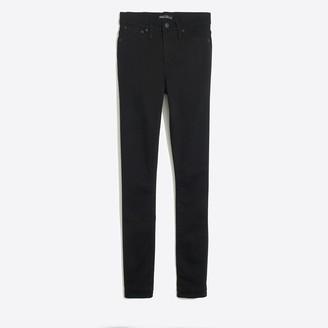 """J.Crew 10"""" highest-rise skinny jean in black denim"""