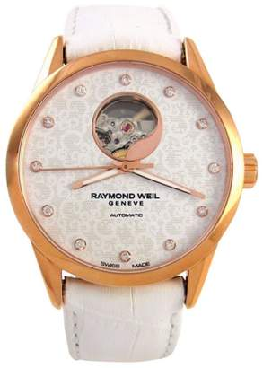 Raymond Weil Freelancer 2750-PC5-30081 Rose Gold-Tone Stainless Steel 38mm Watch