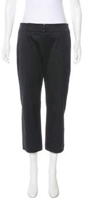 Narciso Rodriguez Mid-Rise Straight-Leg Pants