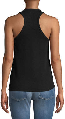 Majestic Cashmere/Wool Scoop-Neck Racerback Knit Tank