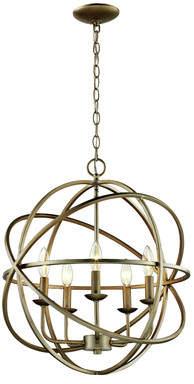 Laurèl Foundry Modern Farmhouse Hankinson 5-Light Globe Pendant