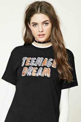 Forever 21 Teenage Dream Sequined Tee