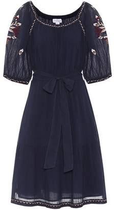 Velvet Monae embroidered cotton dress