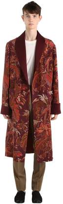 Etro PRINTED SILK ROBE