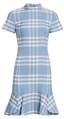Oscar de la Renta Women's Cap Sleeve Shift Dress