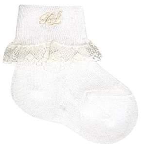 Ralph Lauren Baby's, Toddler's& Little Girl's Lace-Trimmed Dress Socks