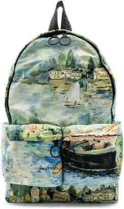 Off-White Off White Lake Backpack in All Over Multi | FWRD