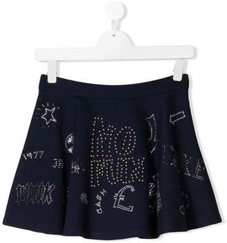 John Richmond Junior studded mini skirt