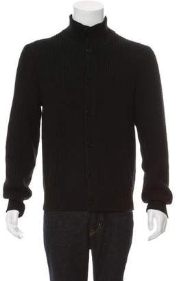 Theory Knit Wool Cardigan
