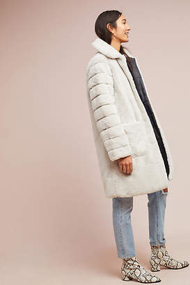 Sanctuary Reversible Faux Fur Coat