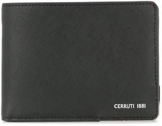 Cerruti logo print wallet