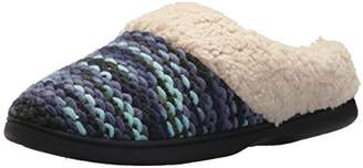 Dearfoams Women's Textured Sweater Knit Clog
