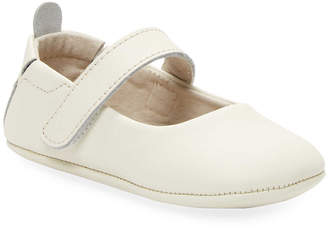 L'amour & Angel Leather Mary Jane Flat