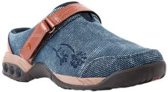 Therafit Denim Fabric Clog Slip-Ons - Austin Denim