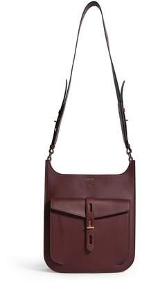 Tom Ford Leather T Twist Hobo Shoulder Bag