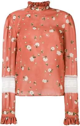 Philosophy di Lorenzo Serafini floral print blouse