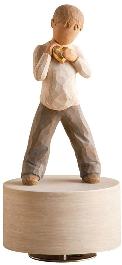 Willow Tree Demdaco Heart of Gold Musical Figurine