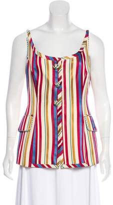 Christian Dior Sleeveless Vest Top