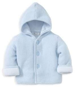 Kissy Kissy Baby Boy's Cotton Knit Hooded Jacket