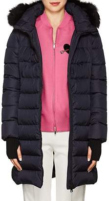 Herno Women's Fox-Fur-Trimmed Down-Quilted Parka