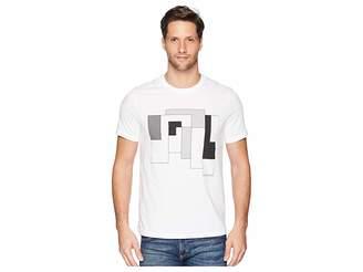 Perry Ellis Abstract Print T-Shirt Men's T Shirt
