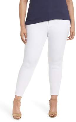 KUT from the Kloth Donna Ankle Frayed Skinny Jeans
