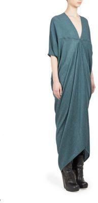 Rick Owens Kite Silk Blend Dress $1,214 thestylecure.com