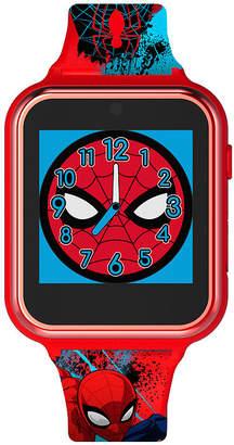 Marvel Spiderman Boys Red Smart Watch-Spd4588jc