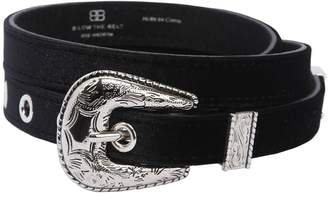 B-Low the Belt Baby Frank Velvet Belt