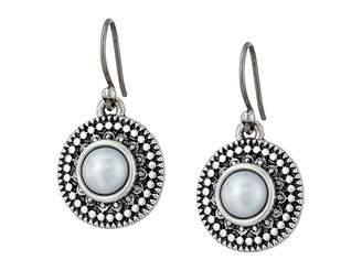Lucky Brand Pearl Small Drop Earrings