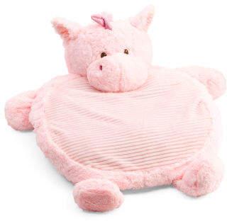 Unicorn Plush Baby Play Mat