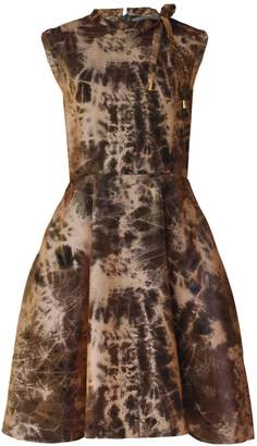Joana Almagro - Stardust Bronze Dress