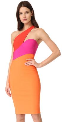 Mugler One Shoulder Dress $2,150 thestylecure.com