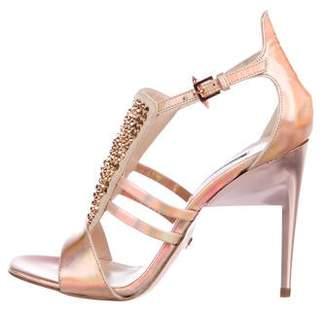 Ruthie Davis Embellished Caged Sandals