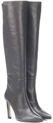 Stuart Weitzman Demi 100 leather boots