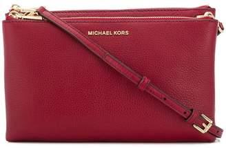MICHAEL Michael Kors double zip crossbody bag