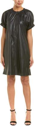BCBGMAXAZRIA Puffed Sleeve Shift Dress