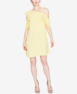 Rachel Roy Asymmetrical Cold-Shoulder Dress