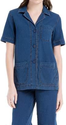 Max Studio Indigo Shirt