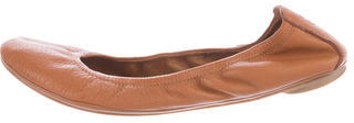 Tory Burch Tory Burch Leather Ballet Flats