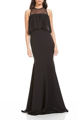 Women's Theia Illusion Popover Gown $995 thestylecure.com