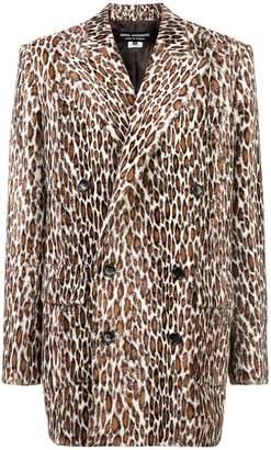 Junya Watanabe leopard print coat